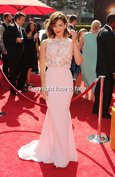 LOS ANGELES, CA- SEPTEMBER 15: Singer Katharine McPhee attends the 2013 Creative Arts Emmy Awards at Nokia Theatre L.A. Live on September 15, 2013 in Los Angeles, California.<br /> Credit: Mayer/face to face<br /> - No Rights for USA, Canada and France -