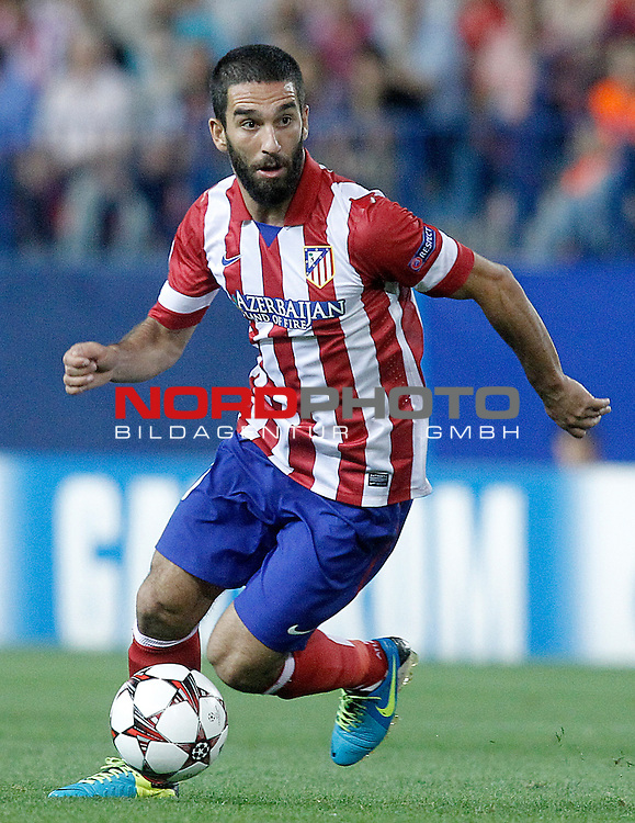 Atletico de Madrid's Arda Turan during Champions League 2013/2014 match.September 18,2013. Foto © nph / Acero)