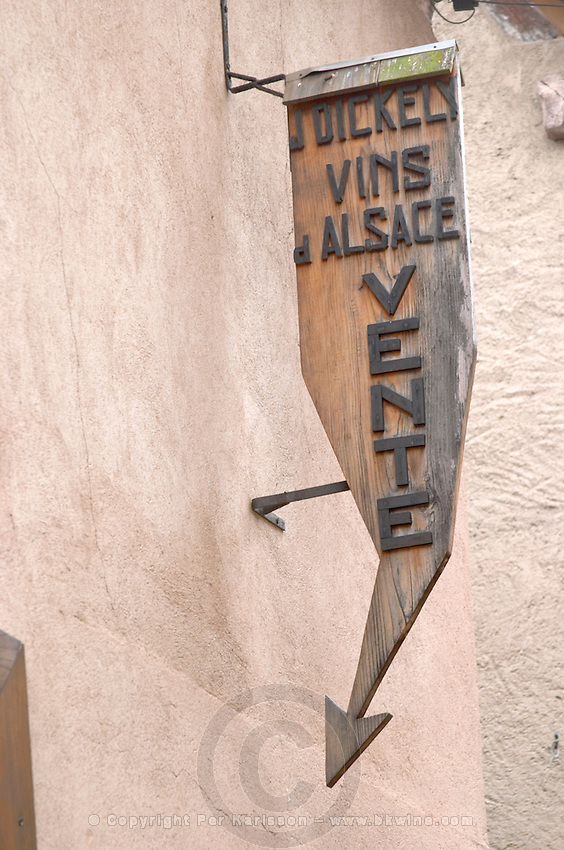 winery wine shop j dickely andlau alsace france