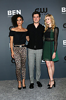 LOS ANGELES - AUG 4:  Andrea Sixtos, Ben Lewis, Katherine McNamara at the  CW Summer TCA All-Star Party at the Beverly Hilton Hotel on August 4, 2019 in Beverly Hills, CA