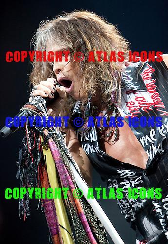 Aerosmith performs at The Palace of Auburn Hills, MI in Auburn Hills, MI on July 5th 2012