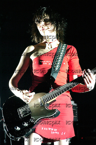 PJ Harvey performing live at the Academy Brixton in London UK - 15 Jul 2004.  Photo credit: George Chin/IconicPix