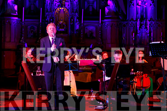 Tommy Fleming performing in his concert in the Killarney Friary on Thursday night