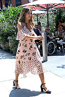 www.acepixs.com<br /> August 4, 2017 New York City<br /> <br /> Jessica Alba was seen in New York City on August 4, 2017.<br /> <br /> Credit: Kristin Callahan/ACE Pictures<br /> <br /> Tel: 646 769 0430<br /> Email: info@acepixs.com