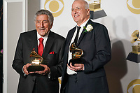 NEW YORK - JANUARY 28: Tony Bennett poses in the press room at the 60th Annual Grammy Awards at Madison Square Garden on January 28, 2018 in New York City. (Photo by Ben Hider/PictureGroup)