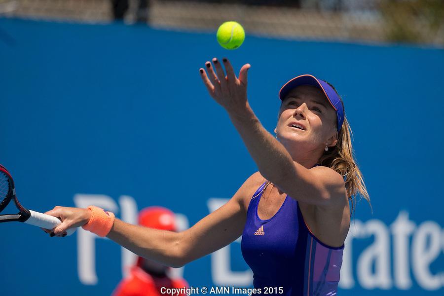 Daniela Hantuchova (SVK)<br /> <br /> Tennis - Australian Open 2015 - Grand Slam -  Melbourne Park - Melbourne - Victoria - Australia  - 22 January 2015. <br /> &copy; AMN IMAGES