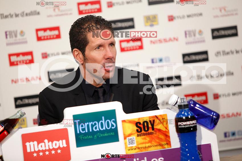 Simeone, Real Valladolid V Atletico de Madrid match of La Liga 2012/13. 17/02/2012. Victor Blanco/Alterphotos /NortePhoto