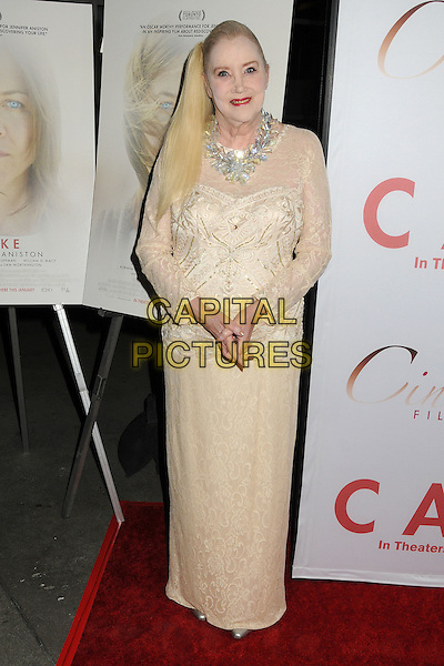14 January 2015 - Hollywood, California - Sally Kirkland. &quot;Cake&quot; Los Angeles Premiere held at Arclight Cinemas. <br /> CAP/ADM/BP<br /> &copy;BP/ADM/Capital Pictures