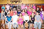 Sandra Hickey Faha, seated third from left, celebrates her 21st with her family and friends in the Killarney Avenue Hotel on Saturday night   Copyright Kerry's Eye 2008