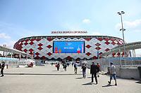 Fans aus dem Senegal vor dem Spiel gegen Polen am Spartak Stadion - 19.06.2018: Polen vs. Senegal, Gruppe H, Spartak Stadium Moskau