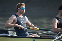 Putney, London,  Tideway Week, Championship Course. River Thames,  Oxford UBC. No. 7: James Cook Tuesday  28/03/2017<br /> [Mandatory Credit; Credit: Peter Spurrier/Intersport Images.com] Tuesday  28/03/2017<br /> [Mandatory Credit; Credit: Peter Spurrier/Intersport Images.com ]