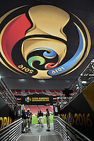 Glendale, AZ - Saturday June 25, 2016: Copa banner prior to a Copa America Centenario third place match match between United States (USA) and Colombia (COL) at University of Phoenix Stadium.