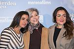 """Inma Cuesta, Kiti Manver and Candela Pena attends the """"Las Ovejas No Pierden El Tren"""" Presentation at Palafox Cinema, Madrid,  Spain. January 27, 2015.(ALTERPHOTOS/)Carlos Dafonte)"""