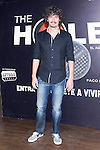 12.09,2012. Celebrities attend the presentation of the new season of  'The Hole' in Theater Caser Calderon of Madrid, with La Terremoto de Alcorcon and Alex O'Dogherty. In the image Javier Pagudo (Alterphotos/Marta Gonzalez)