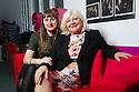 Edinburgh, UK. 03.09.2015. Karen Koren, artistic director and founder of the Gilded Balloon empire, with daughter, Katy Koren, marketing manager of the Gilded Balloon, in the Gilded Balloon offices. Photograph © Jane Hobson.