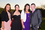 Enjoying the Austin Stacks social on Sunday night in Ballyroe l-r Adele Conway, Tara O'Brien, Grainne Herbert and Ian O'Carroll