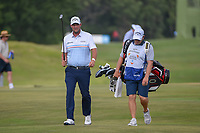 Marc Leishman (AUS) approaches the green on 18 during round 3 of the AT&amp;T Byron Nelson, Trinity Forest Golf Club, at Dallas, Texas, USA. 5/19/2018.<br /> Picture: Golffile | Ken Murray<br /> <br /> <br /> All photo usage must carry mandatory copyright credit (&copy; Golffile | Ken Murray)