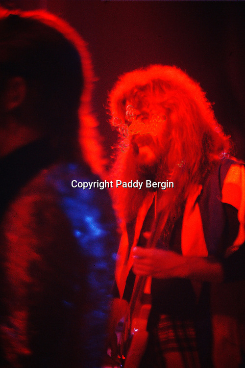 Roy Wood and Wizard in concert at Worthing Assembly Hall, West Sussex in the early 70s.<br />