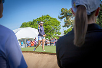 Hannah Green (AUS) during the third round of the ISPS Handa Women&rsquo;s Australian Open, The Grange Golf Club, Adelaide SA 5022, Australia, on Saturday 16th February 2019.<br /> <br /> Picture: Golffile | David Brand<br /> <br /> <br /> All photo usage must carry mandatory copyright credit (&copy; Golffile | David Brand)