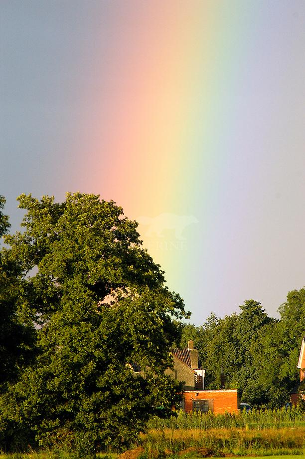 Regenboog boven Chaam