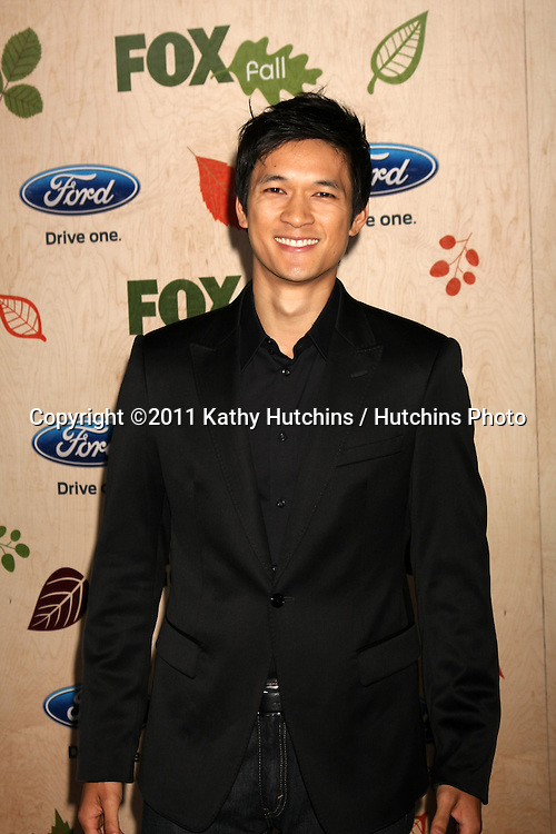 LOS ANGELES - SEP 12:  Harry Shum Jr. arriving at the 7th Annual Fox Fall Eco-Casino Party at The Bookbindery on September 12, 2011 in Culver City, CA