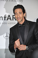 Adrien Brody  at the 21st annual amfAR Cinema Against AIDS Gala at the Hotel du Cap d'Antibes.<br /> May 22, 2014  Antibes, France<br /> Picture: Paul Smith / Featureflash