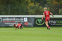 Wilcox of Hartpury RFC scores the winning try during the Greene King IPA Championship match between London Scottish Football Club and Hartpury RFC at Richmond Athletic Ground, Richmond, United Kingdom on 28 October 2017. Photo by David Horn.