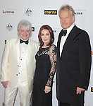 Priscilla Presley with Air Supply - Russell Hitchcock and Graham Russell at The G'Day USA Australia Week 2012 Black Tie Gala at Hollywood & Highland Grand Ballroom in Hollywood, California on January 14,2011                                                                               © 2012 Hollywood Press Agency