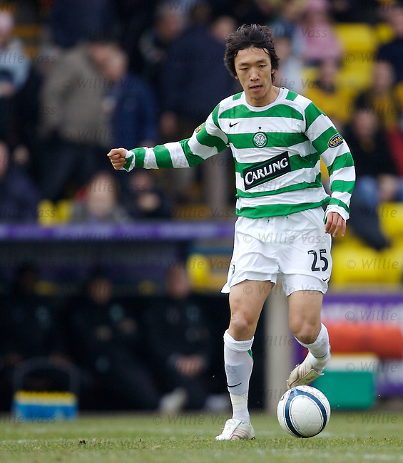 Shunske Nakamura, Celtic.stock season 2006-2007.pic willie vass