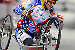 May 28, 2012: Wounded Warrior, Robert Puckett, competes in the 2012 U.S. Handcycling Criterium National Championships, Greenville, SC.