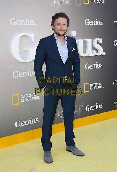 WESTWOOD, CA - April 24: Jon Fletcher, At National Geographic's Premiere Screening of &quot;Genius&quot; At The Fox Theater, Westwood Village In California on April 24, 2017. <br /> CAP/MPI/FS<br /> &copy;FS/MPI/Capital Pictures