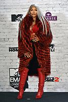 Stefflon Don<br /> MTV EMA Awards 2017 in Wembley, London, England on November 12, 2017<br /> CAP/PL<br /> &copy;Phil Loftus/Capital Pictures