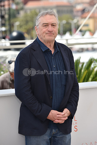 Robert De Niro<br /> 'Hands of Stone' photocall during the 69th International Cannes Film Festival, France May 16, 2016.<br /> CAP/PL<br /> &copy;Phil Loftus/Capital Pictures /MediaPunch ***NORTH AND SOUTH AMERICA ONLY***