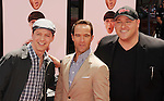 HOLLYWOOD, CA - APRIL 07: Sean Hayes, Chris Diamantopoulos and Will Sasso attend the Los Angeles premiere of 'The Three Stooges' at Grauman's Chinese Theater on April 7, 2012 in Hollywood, California.