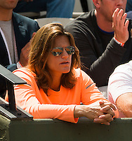AMELIE MAURESMO (COACH) ANDY MURRAY (GBR)<br /> <br /> Tennis - French Open 2015 -  Roland Garros - Paris -  ATP-WTA - ITF - 2015  - France <br /> <br /> &copy; AMN IMAGES