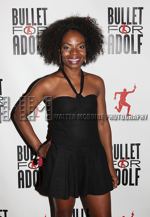 Marsha Stephanie Blake attending the Opening Night Performance After Party for 'Bullet For Adolf' at Hurley's Saloon in New York City on 8/8/2012.