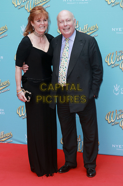 Sarah Ferguson and Julian Fellowes at the 'The Wind In The Willows' musical opening night, London Palladium, London on June 29th 2017<br /> CAP/PP/PTS<br /> &copy; PTS/PP/Capital Pictures