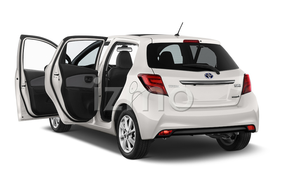 Car images of a 2015 Toyota Yaris Hybride Lounge 5 Door Hatchback 2WD Doors