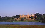 AYBR05 Framlingham castle Suffolk England