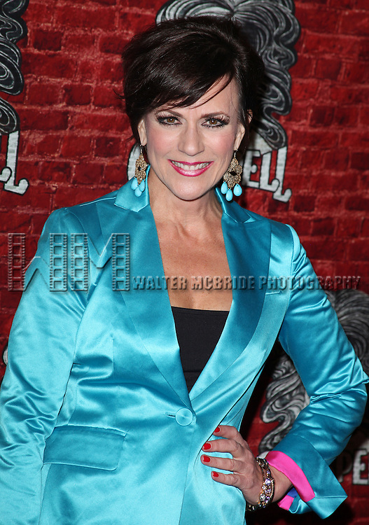 Colleen Zenk.arriving for the Opening Night Performance of the Broadway Revival of 'Godspell' at Circle in the Square Theatre in New York City.