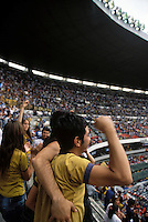 Estadio Azteca, Mexico DF, March, 2006. Fans during a fotball match America Vs. Pumas