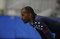 SPEEDSKATING: SALT LAKE CITY: 06-12-2017, Utah Olympic Oval, ISU World Cup, training, Shani Davis (USA), photo Martin de Jong