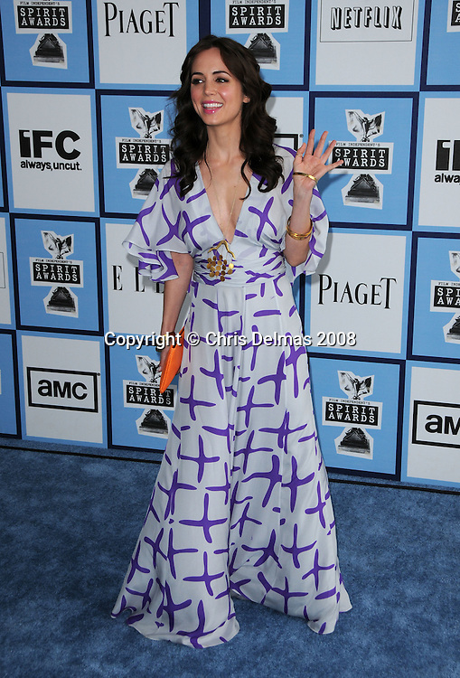 ELIZA DUSHKU @ the 2008 Film Independent's Spirit awards held @ the Santa Monica beach..February 23, 2008
