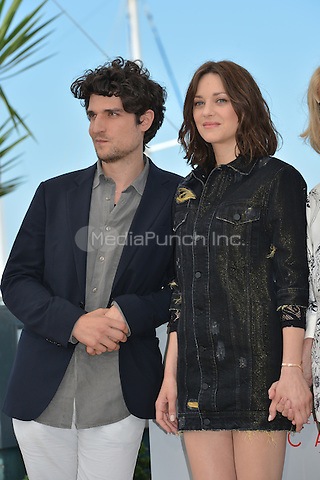 Louis Garrel and Marion Cotillard at the Photocall &acute;Mal de Pierres` - 69th Cannes Film Festival on May 15, 2016 in Cannes, France.<br /> CAP/LAF<br /> &copy;Lafitte/Capital Pictures /MediaPunch ***NORTH AND SOUTH AMERICA ONLY***