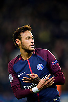 Celebration Esultanza de Neymar Jr (PSG) apres son but<br /> <br /> Parigi 31-10-2017 <br /> Paris Saint Germain - Anderlecht Champions League 2017/2018<br /> Foto Panoramic / Insidefoto