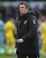 Fleetwood Town manager Joey Barton <br /> <br /> Photographer Kevin Barnes/CameraSport<br /> <br /> The EFL Sky Bet League One - Bristol Rovers v Fleetwood Town - Saturday 22nd December 2018 - Memorial Stadium - Bristol<br /> <br /> World Copyright © 2018 CameraSport. All rights reserved. 43 Linden Ave. Countesthorpe. Leicester. England. LE8 5PG - Tel: +44 (0) 116 277 4147 - admin@camerasport.com - www.camerasport.com