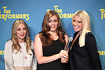 """Actress Jenni Barber, actress Alicia Silverstone and actress Ari Graynor  attends press event to introduce the cast and creators of the new Broadway play """"The Performers""""at the Hard Rock Cafe on Tuesday, Sept. 25, 2012 in New York."""