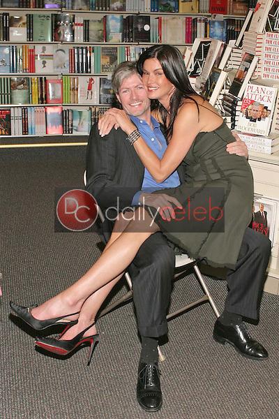 Janice Dickinson and her boyfriend Dr. Frank Ryan
