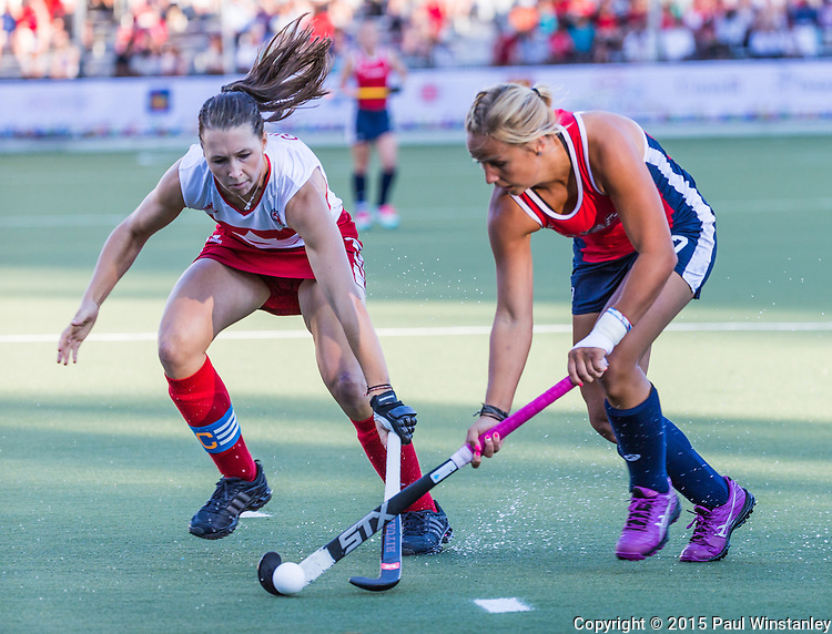Canada Women vs USA Women at Pan Am Games 2015 in Toronto, Ontario, Canada