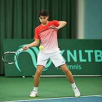 Rotterdam, The Netherlands, March 13, 2016,  TV Victoria, NOJK 12/16 years, Sidané Pontjodikromo (NED)<br /> Photo: Tennisimages/Henk Koster